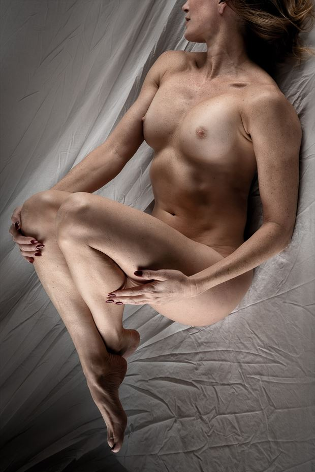 abs artistic nude photo print by photographer rick jolson