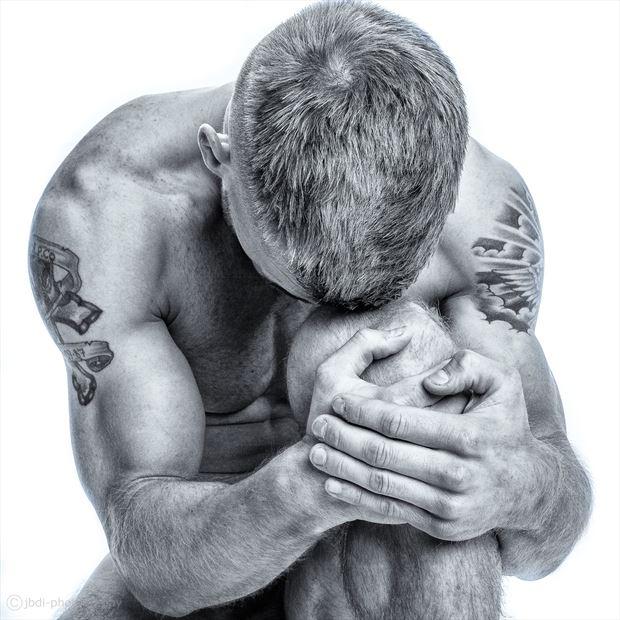 adam artistic nude photo print by photographer jbdi