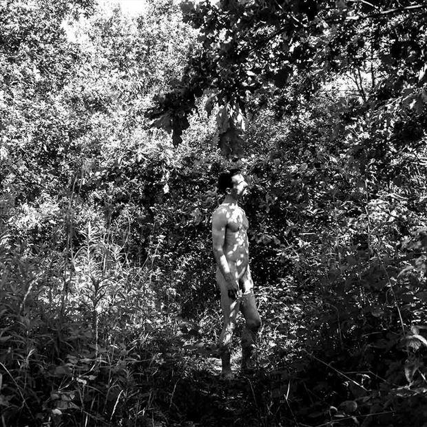 adam in eden artistic nude photo print by model coma12