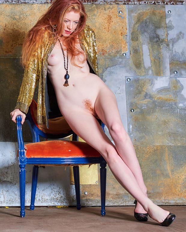 after klimt artistic nude photo print by photographer teb art photo