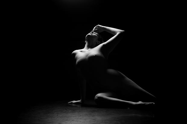 agony artistic nude photo print by photographer ericr