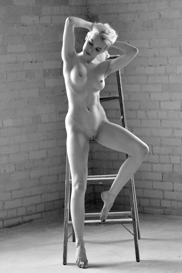 aliclairemodel artistic nude photo print by photographer femmesiren