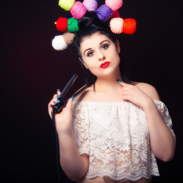 anastasia fashion photo print by photographer glossypinklipstick