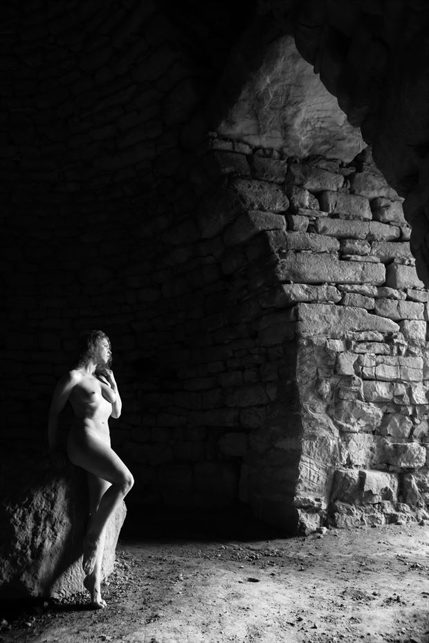 anastasis artistic nude photo print by photographer garden of the muses