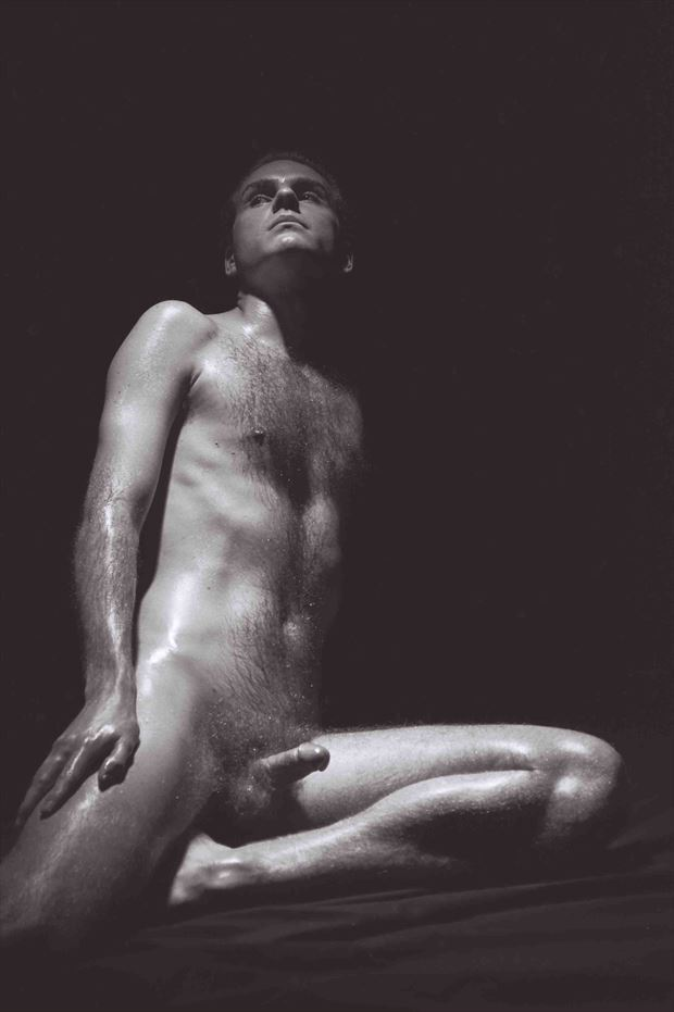 ancient greek satyr 2000 artistic nude photo print by model thomas lundy