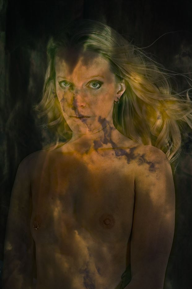 apparition artistic nude photo print by photographer kean creative