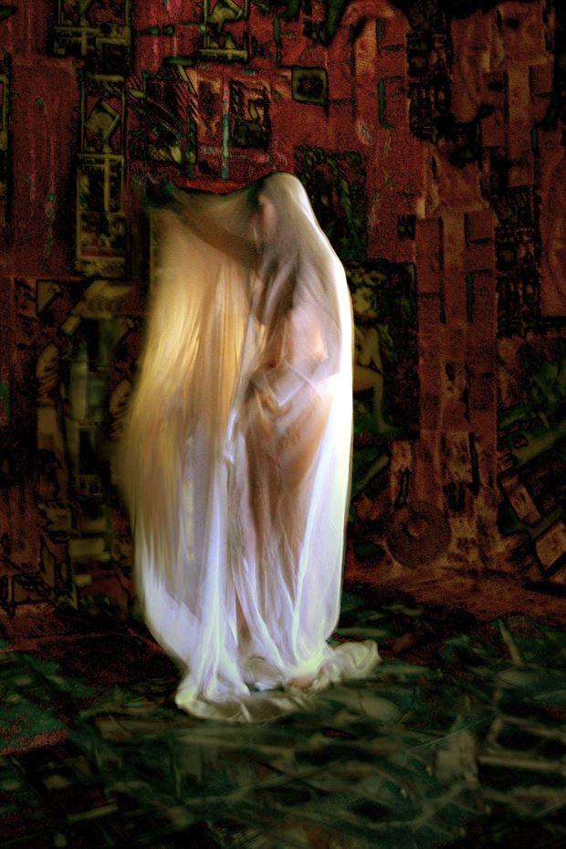 apparition painting atelier joseph auquier surreal photo print by photographer joseph auquier