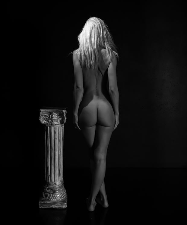 artistic form artistic nude artwork print by photographer miller box photo