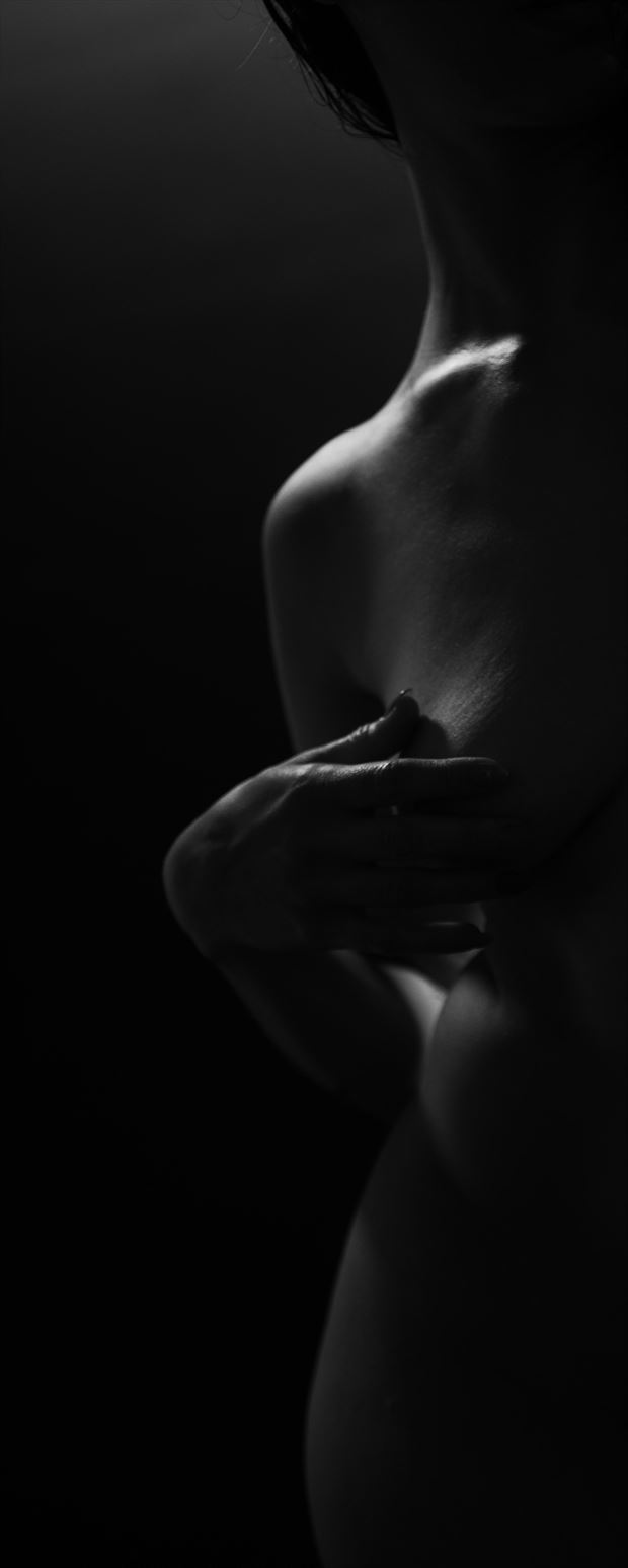 artistic nude abstract photo print by photographer athol peters
