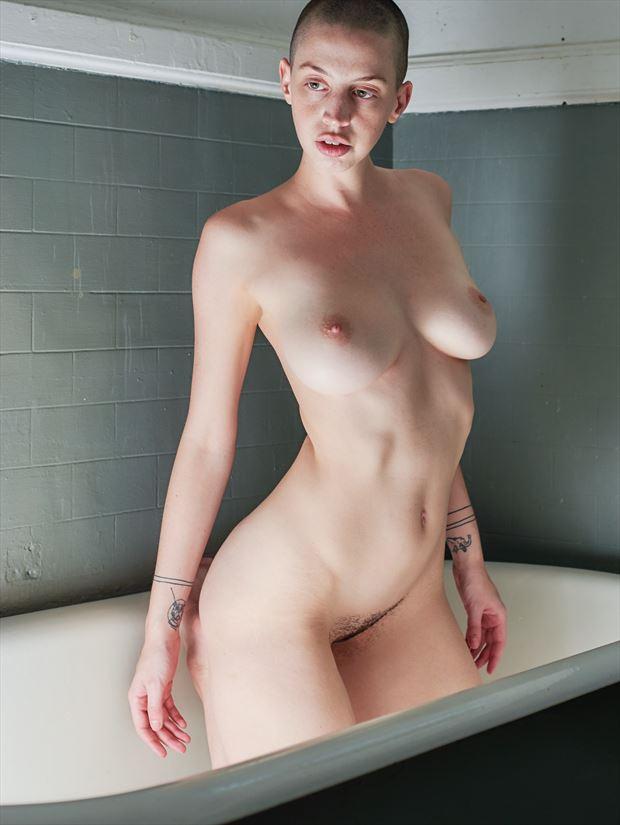 artistic nude alternative model photo print by photographer teb art photo