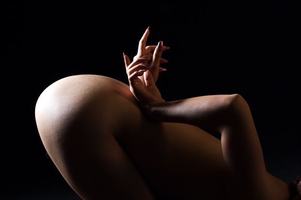 artistic nude close up artwork print by photographer yoga chang