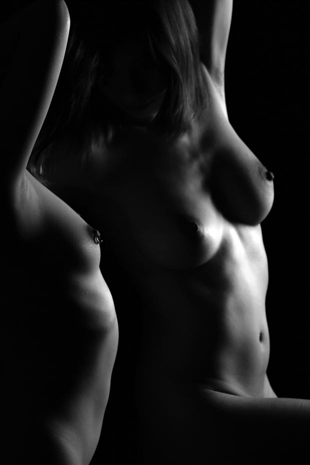 artistic nude couples artwork print by photographer yoga chang