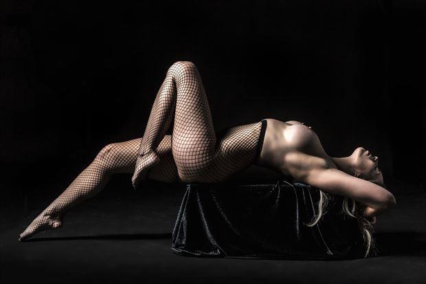artistic nude erotic photo print by photographer ken greenhorn