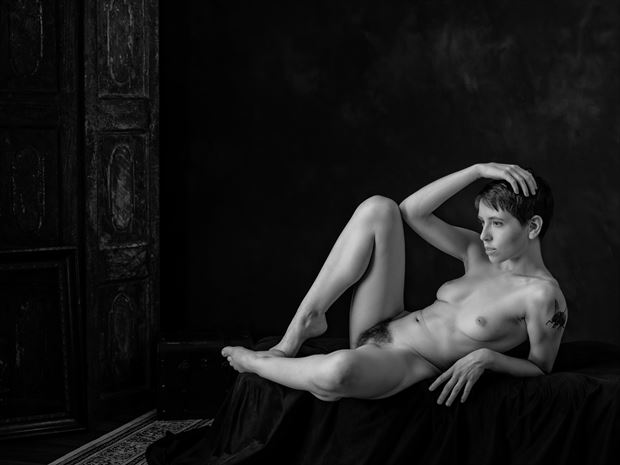 artistic nude erotic photo print by photographer nine80photos