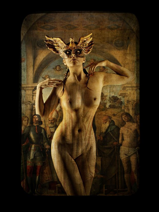 artistic nude fantasy photo print by photographer stu williamson