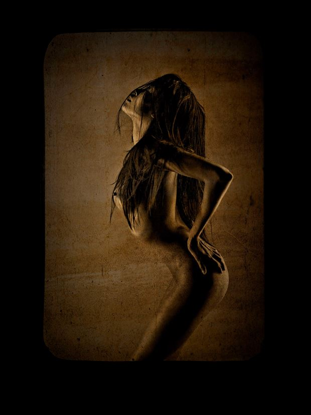 artistic nude fashion photo print by photographer stu williamson