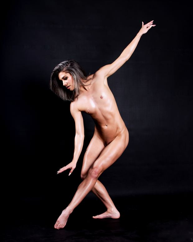 artistic nude figure study photo print by photographer bearcreekphoto