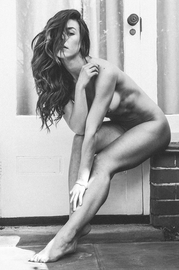 artistic nude figure study photo print by photographer djr images