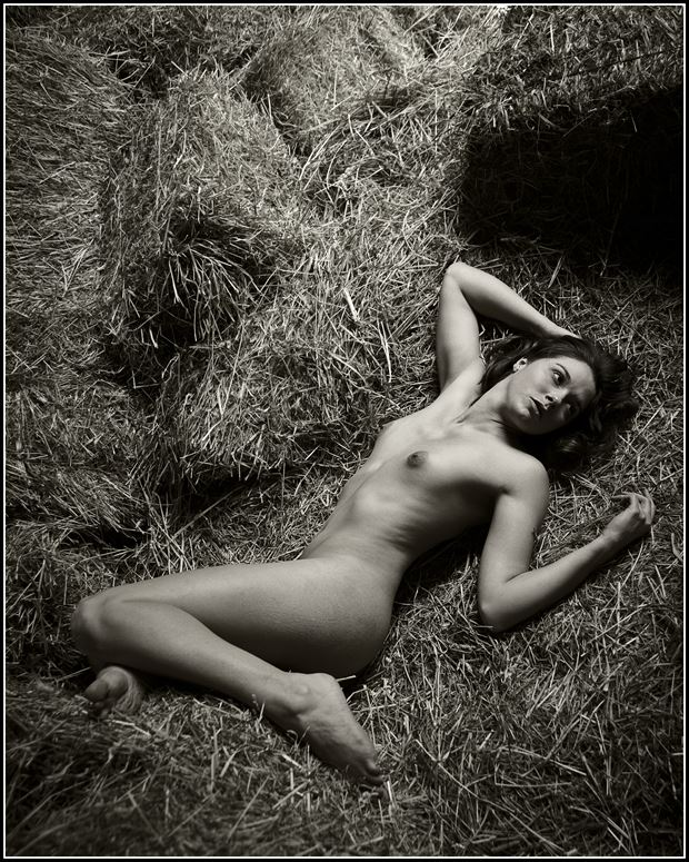 artistic nude figure study photo print by photographer magicc imagery