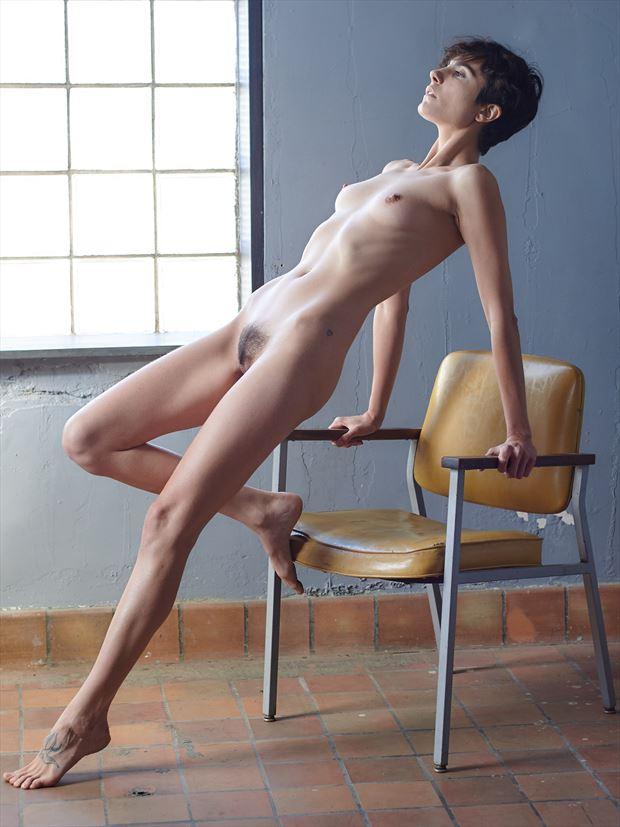artistic nude figure study photo print by photographer teb art photo