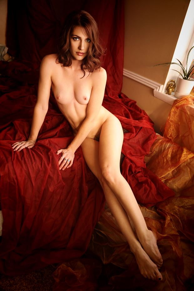 artistic nude glamour photo print by photographer randall lloyd