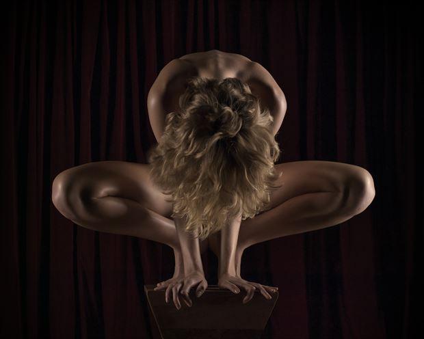 artistic nude implied nude photo print by photographer aj kahn
