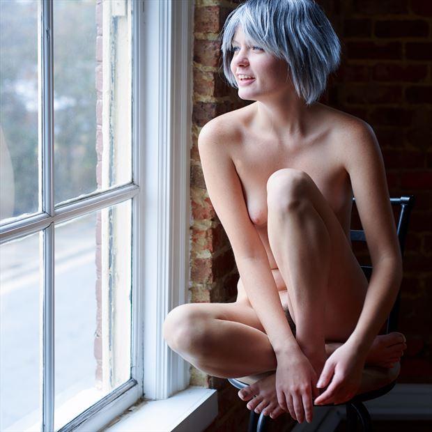 artistic nude natural light photo print by photographer teb art photo
