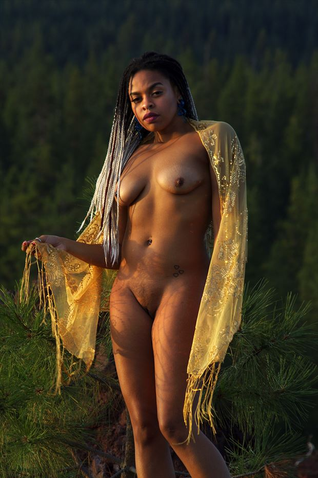artistic nude nature photo print by photographer aephotography