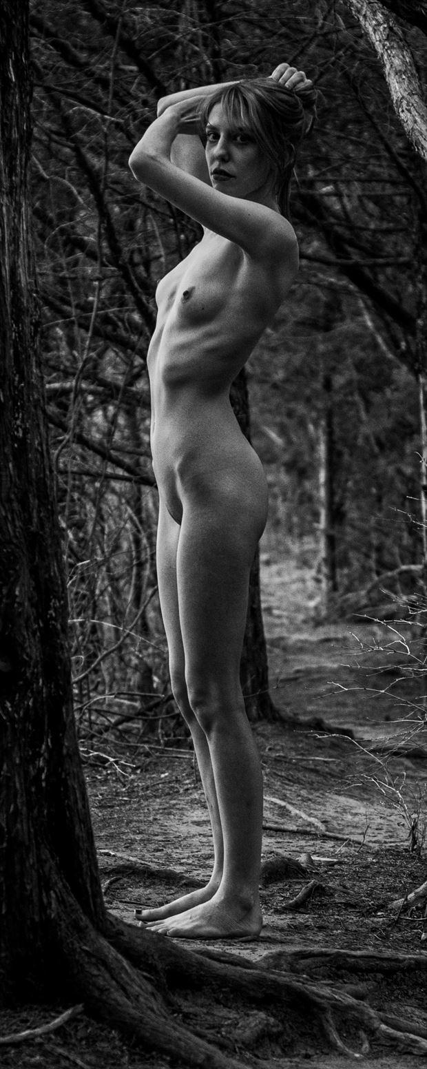 artistic nude nature photo print by photographer goadken