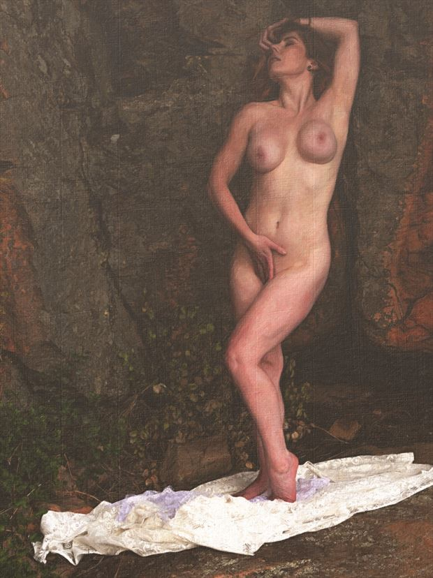 artistic nude nature photo print by photographer tfa photography