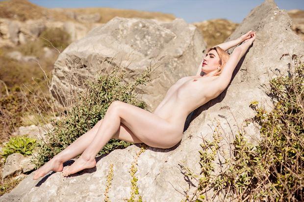 artistic nude nature photo print by photographer woodman chris