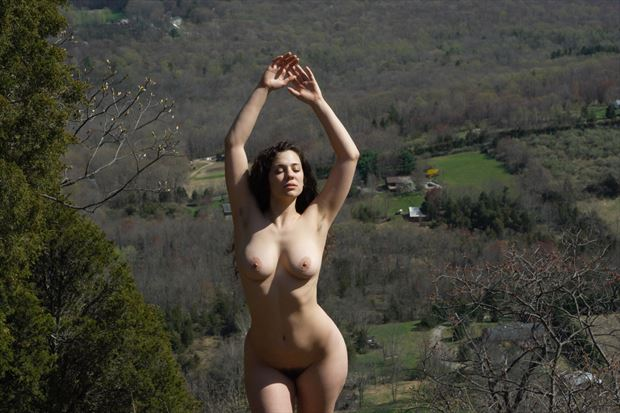 artistic nude nature photo print by photographer zames curran