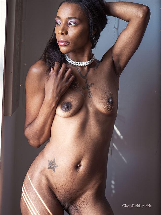 artistic nude photo print by photographer glossypinklipstick