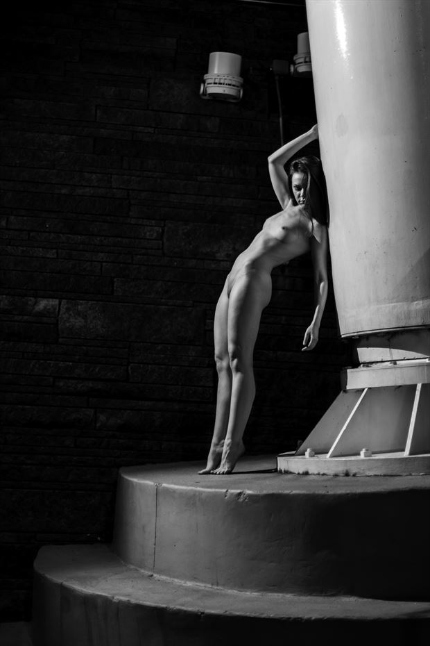 artistic nude photo print by photographer lonnie tate