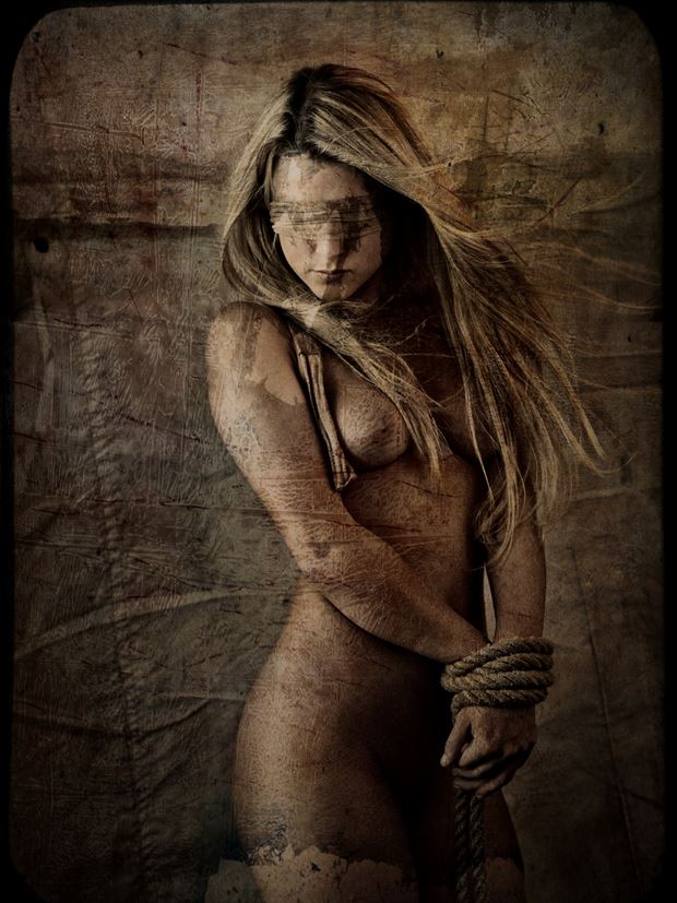 artistic nude photo print by photographer stu williamson