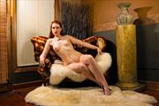 artistic nude pinup photo print by photographer robert l person