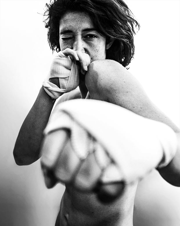 artistic nude portrait photo print by photographer kunstmann