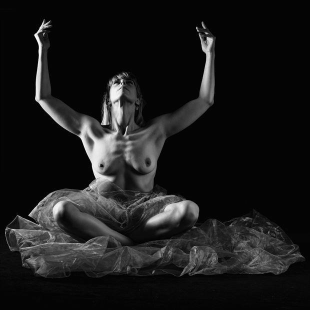 artistic nude portrait photo print by photographer woodman chris