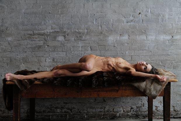 artistic nude sensual photo print by model bia
