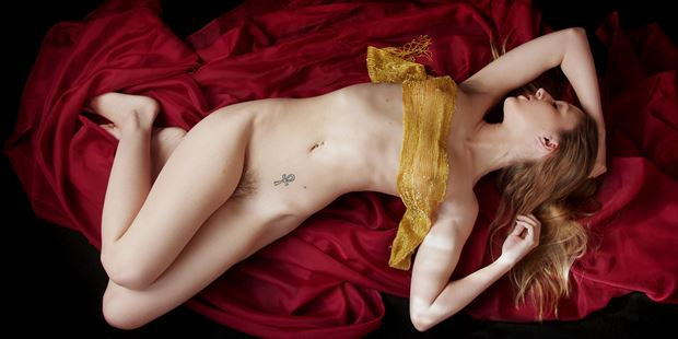 artistic nude sensual photo print by photographer aephotography