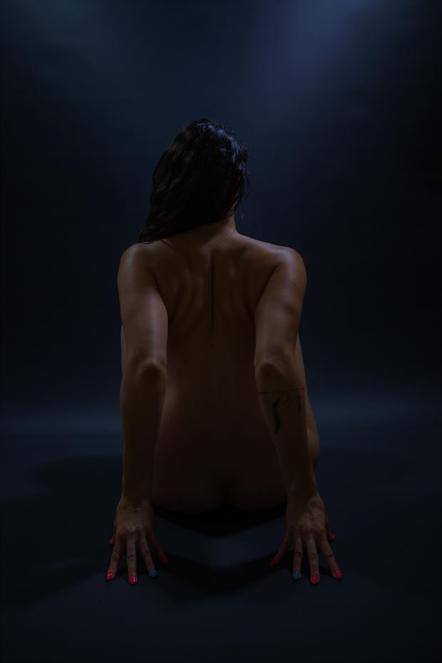 artistic nude sensual photo print by photographer athol peters