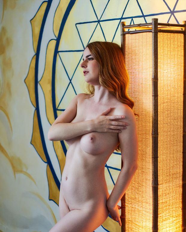 artistic nude sensual photo print by photographer teb art photo
