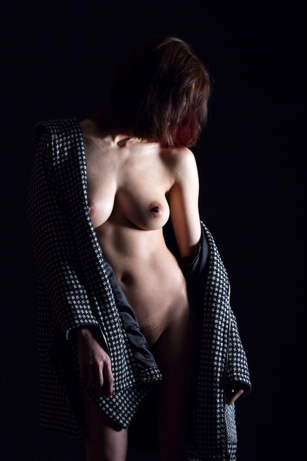 artistic nude studio lighting artwork print by photographer yoga chang