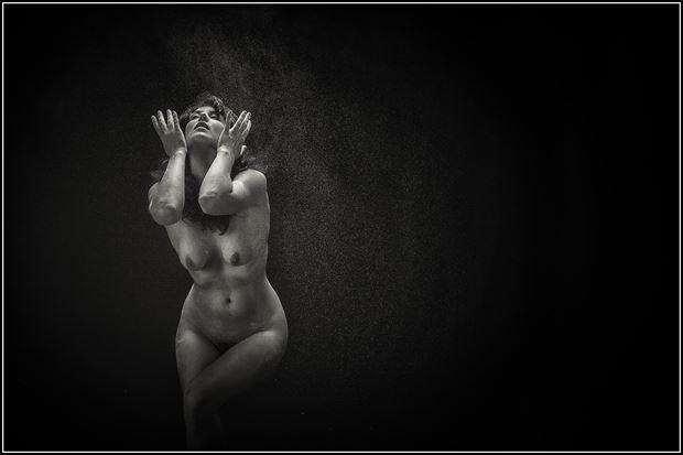 artistic nude studio lighting photo print by photographer magicc imagery