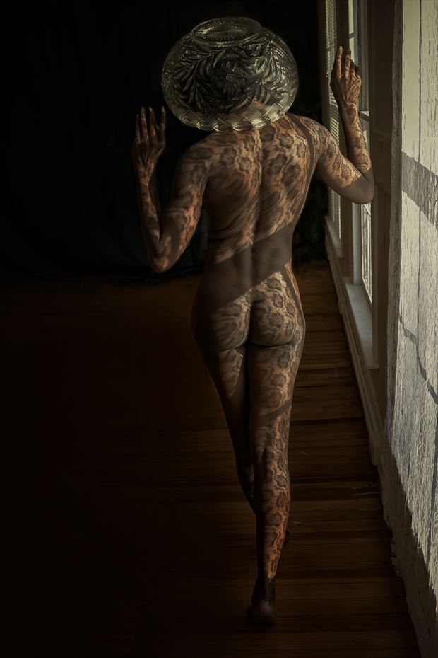 artistic nude surreal photo print by artist kevin stiles