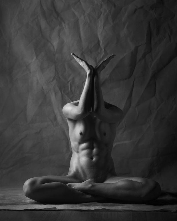 artistic nude surreal photo print by photographer aj kahn