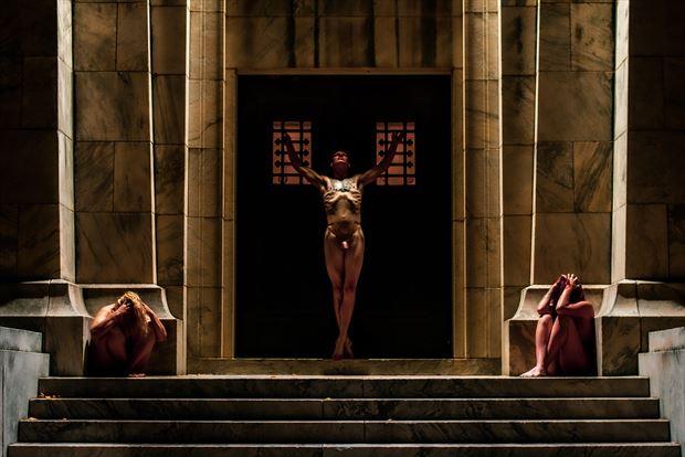 artistic nude surreal photo print by photographer goadken