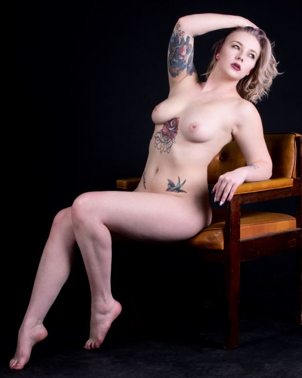 artistic nude tattoos photo print by photographer bearcreekphoto