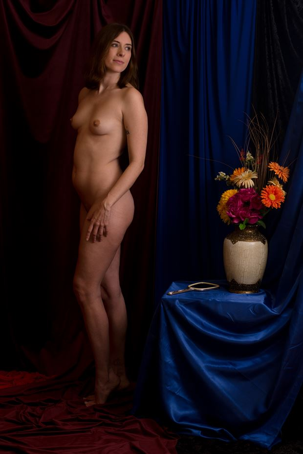 artistic nude vintage style photo print by photographer tfa photography