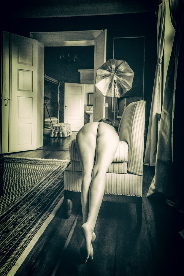 at work Artistic Nude Photo print by Photographer BenGunn